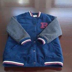 Girls Zara Medium Weight Letter Jacket Size 9/10